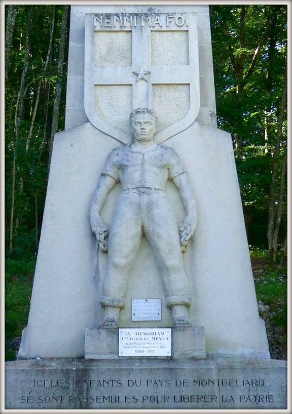le monument du lomont